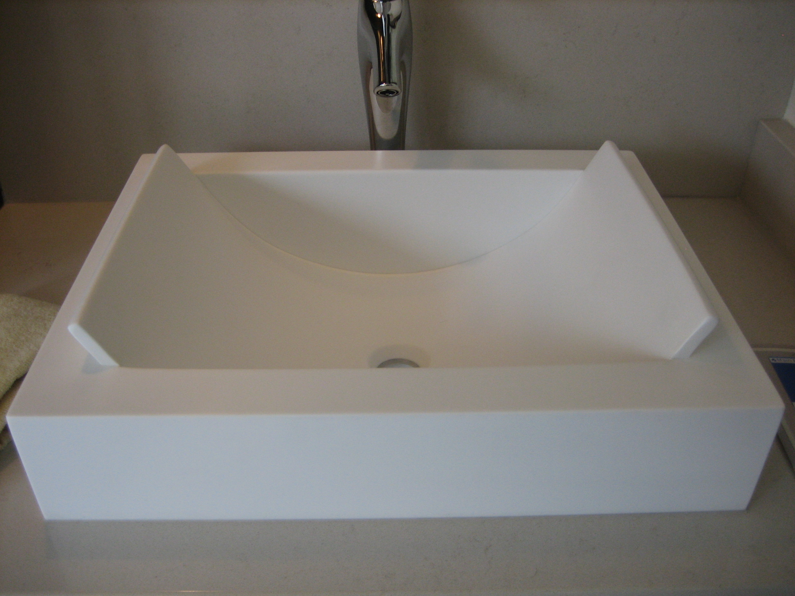 Photo 1 for Corian sink accessories