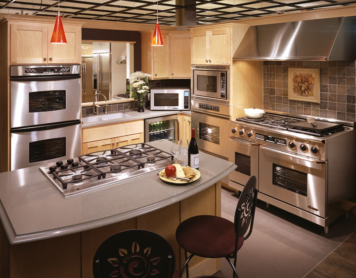 Design Kitchen Appliances Gorgeous Inspiration Design